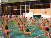 Лечебная гимнастика на курорте Хакань